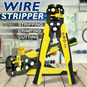 Automatic Wire Cutter Stripper - Electrical Cable Crimper Terminal Tool - 5 in 1