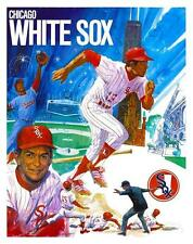 1972 Chicago WHITE SOX Baseball  *POSTER*  Dick Allen Chuck Tanner Carlos May