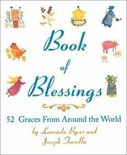 Book Mini, Book of Blessings 52 Graces Worldwide Cultures Byers & Torsella @@!