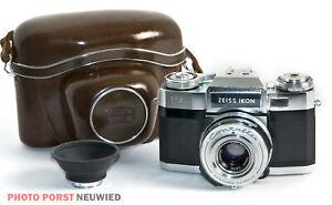 Zeiss Ikon Contaflex * Spiegelreflexkamera aus alten Zeiten in gutem Zustand *