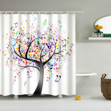 70.87*70.87inch Shower Curtain WATERPROOF Mildew Resistant Colorful Patterns