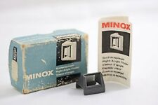 Vintage Minox Camera Right Angle Finder With Instructions