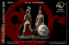 Amazon Hoplite  75mm 1 Figur El Viejo Dragon Miniaturas Pin Up AS75.55