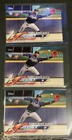 2018 TOPPS UPDATE #US252 RONALD ACUNA JR ROOKIE RC ATLANTA BRAVES LOT OF (3)