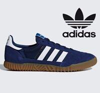 Genuine Adidas Originals Indoor Super ® ( Men Size UK 6 EUR 39.5 ) NOBLE INDIGO