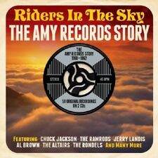 Riders In The Sky-Amy Records Story 1960-1962 2-CD NEW SEALED Ramrods/Rondels+