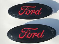 2018-2019-2020  F-150 Black & RACE RED LOGO,Emblem SET