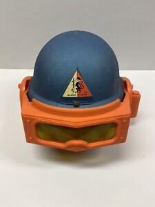 VERY RARE! Vintage 1968 Remco Toys Monkey Helmet (BLUE and ORANGE VERSION)