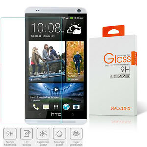 Nacodex HD Premium Tempered Glass Screen Protector for HTC One Max 5.9""