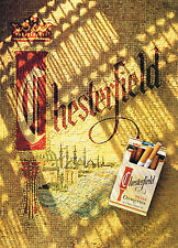 PUBLICITE ADVERTISING 014   1989    CHESTERFIELD   cigarettes