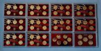 1999 - 2010 Silver Proof Quarter Sets- 61 Coins-12 sets -No Box/COA