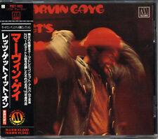MARVIN GAYE Let's Get It On 1973 JAPAN Early Press CD 1993 W/Obi RARE