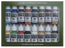 (VAL70142) - AV Vallejo Model Color Set - Medieval Colors (x16)