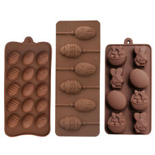 Silicone Cake Decorating Moulds Ice Egg Candy Cookies Chocolate Baking Tool Mold