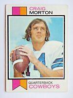 Craig Morton #493 Topps 1973 Football Card (Dallas Cowboys) VG