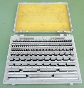 120 ZEISS Endmaße 0,5-100 Endmaßkasten Endmaßsatz Parallel Endmaß Parallelendmaß