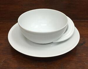 Rosenthal Cupola weiß Design by Bellini - Teegedeck 2-tlg. Tee Tasse Unterteller