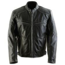 Black Brand Cutthroat Stealth Leather Jacket Black Large NEW