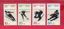 Alemania Federal Deportes olimpiada Sapporo año 1972 (CP-593)