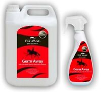 Fly Away Germ Away 500ml, 1 Litre & 5 Litre Kills Germs for horses