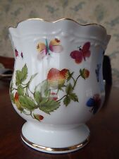 VTG ARDALT LENWILE CHINA SCALLOPED DISH BOWL BUTTERFLIES HAND PAINTED JAPAN