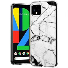 Thin Gel Phone Case for Google Pixel 4,4 XL,3,3A,Marble 17 Pattern Print
