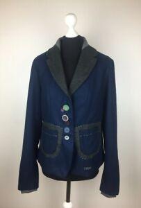 Desigual Womens Jacket Size 44