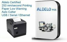 Aldelo Pos Pro Software w/ Fast Thermal Printer 250mm/sec