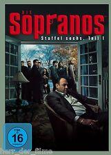 DIE SOPRANOS, Staffel 6.1 (4 DVDs) NEU+OVP