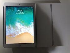 "Apple iPad 5th Gen 128GB, Wi-Fi + Cellular (Unlocked), 9.7"" Silver"