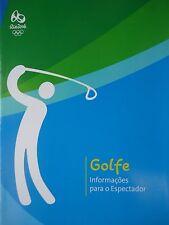 Golfe Informacoes para o Espectador Olympia Rio 2016 (Portuguese)