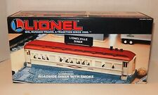NEW LIONEL #12722 ILLUMINATED ROADSIDE DINER WITH OPERATING SMOKE - MINT OB