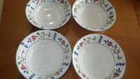 Avondale Bowls Coupe Cereal Bowls 4 piece set Excellent condition By Nikko