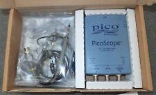 Picoscope 2203 digital USB oscilloscope with 2x unused 1x/10x probes