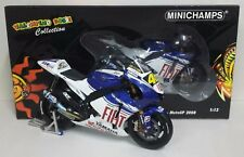 MINICHAMPS VALENTINO ROSSI 1/12 YAMAHA MOTOGP 2008 WORLD CHAMPION L.E. RARE NEW