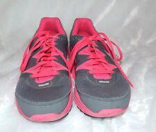 Nike Womens Lunarfly 3 Running Shoes Sz 8 Gray Pink Flexible Lightweight Lace Up