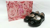 LELLI KELLY Perrie Black Patent Girl's School Shoes UK 9 F / EU 27