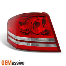 Fit 2008 2009 2010 Dodge Avenger Driver Side Red Clear Replacement Taillight