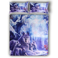 Animal Soft Duvet Cover Set Twin/Queen/King Size Bedding Set Pillow Cases
