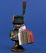 Verlinden 200mm 1/9 Officer from Horse Chasseurs of Guard Bust (Napoleonic) 1522