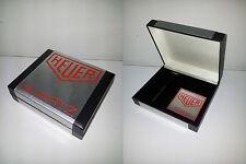 Heuer quartz  watch box astuccio etui ecrin uhrenbox vintage NOS (lot 24bis)
