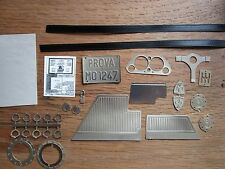 Pocher 1/8 Ferrari F40 Metal Detail Transkit Upgrade Kit Interior + Chassis