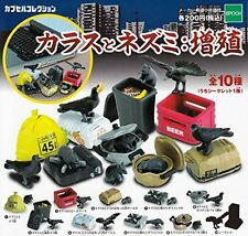 Crow And Mouse - Growth 10 Pics Set Capsule Toys Gashapon From Japan
