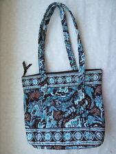 "Vera Bradley Java Blue XL Betsy Bag Tote Purse Handbag 12""H 15""L 4"" W XLNT COND"