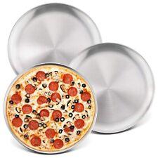 10-Inch Pizza Pan Round Pizza Tray,Pizza Baking Tray Bakeware Set,Non-Toxic E4F4