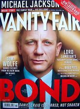 JAMES BOND + 007 + VANITY FAIR + 2012 + DANIEL CRAIG IS STIRRED, NOT SHAKEN +