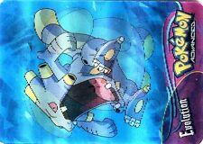 POKEMON ADVANCED CARD HOLO 3D 2004 (CARTE) N° #17 WHISMUR LOUDRED EXPLOUD