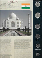 Coins from Around the World India 1988 - 2003  BU UNC 10 Paise 1988C KM 40.2