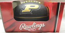 RAWLINGS, PURDUE UNIVERSITY PT-3 PRECISION GRIP PEE WEE FOOTBALL W/ KICK TEE