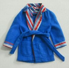 Vintage Barbie: KEN #3377 Wide Awake Stripes ~ Blue Robe
